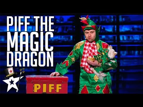 Piff the Magic Dragon on America's Got Talent | Magicians Got Talent