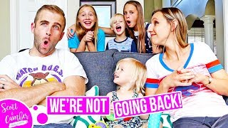 HUGE BACK TO SCHOOL ANNOUNCEMENT...WE'RE NOT GOING BACK...