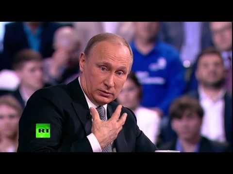 Владимир Путин ответил на вопрос Сергея Доренко о поиске «врагов народа»