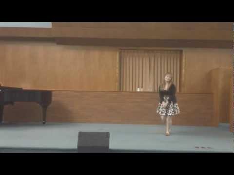 """Amber Dawn singing """"Shy"""""""