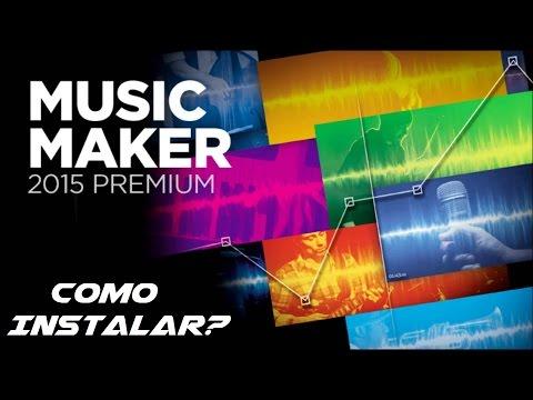 Instalar y Crear música con Music Maker 2015 PREMIUM