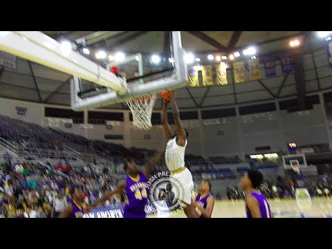 Josh LeBlanc (Madison Prep 2018 F, Georgetown Signee) vs. Wossman - LeBlanc puts on dunk show!