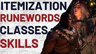 All About Classes, Itemization, Runewords, Skills - Diablo 4
