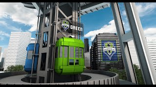 Seattle Sounders Elevator Race