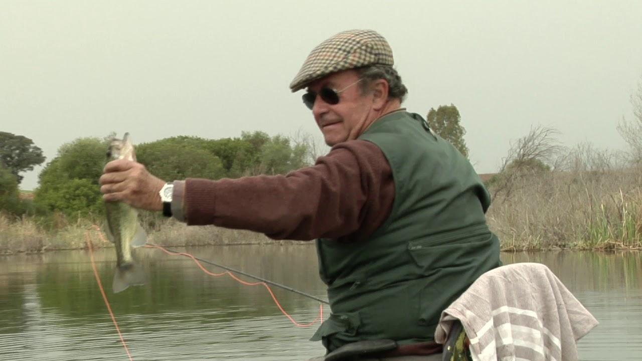 Pescando Black Bass a mosca con Alfredo Álvarez Pickman