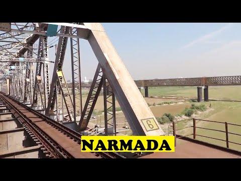 WAP4 Virar Bharuch Shuttle Mighty Narmada River Bridge