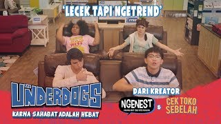 Download THE UNDERDOGS Lecek Tapi Ngetrend Video Lyric