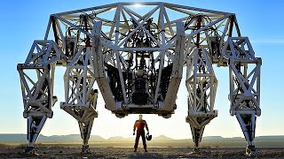 Worlds First and Largest Exoskeleton Racing Mech