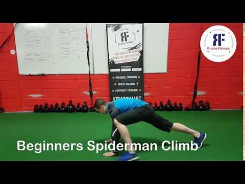 Beginners Spiderman Climb