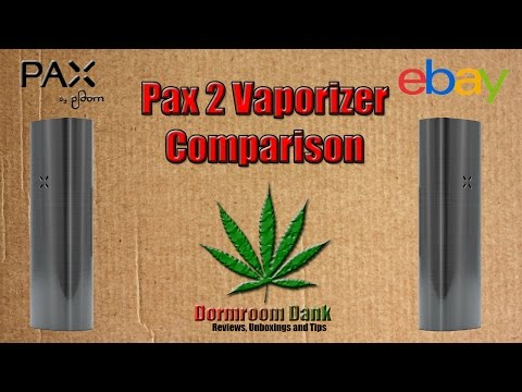 Pax 2 Vaporizer vs. Fake eBay Pax 2 Comparison