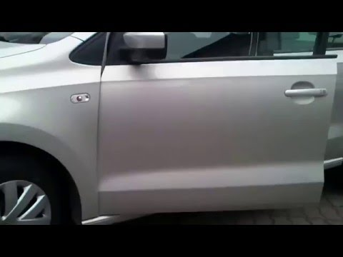 WV Polo Ремонт двери