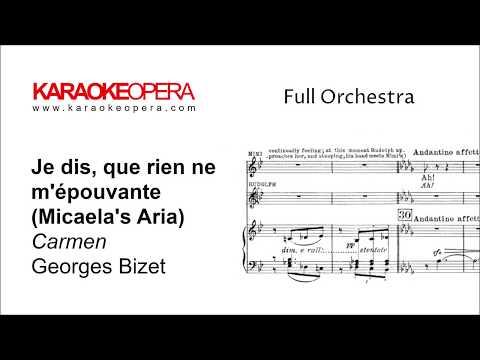 Karaoke Opera: Micaela's