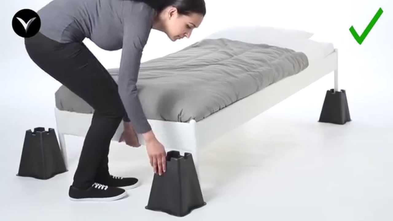 Rialzi per letto sedia poltrone divani youtube - Reti da letto ikea ...