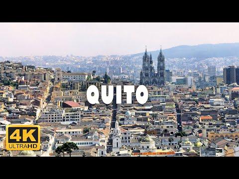 Quito, Ecuador 🇪🇨 | 4K Drone Footage