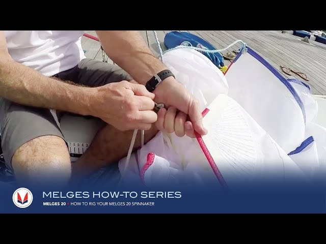 How To Rig Your Melges 20 Spinnaker