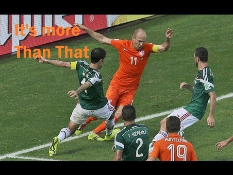 Arjen Robben's Dive Wasn't the Reason why Mexico lost vs Netherlands 2-1 @JonClem310