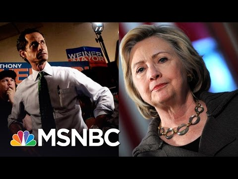 Hillary Clinton Emails Found During Probe Into Anthony Weiner   MSNBC