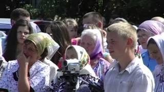 Водне хрищення. м.Тернопіль. Церкви ХВЄ
