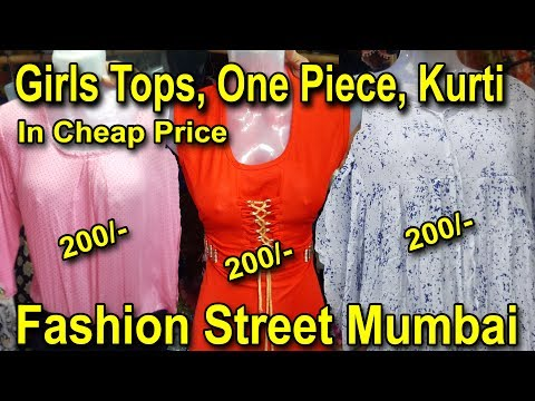 Girls Kurti Westurn Dresses Tops In Reasonable Price | Fashion Street Mumbai | Go Girls....