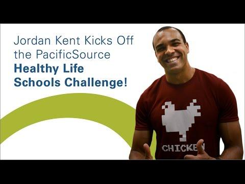 Healthy Life Challenge Kick-off at Elizabeth Page Elementary School