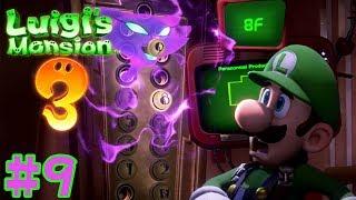 Luigi's Mansion 3 - Walkthrough Part 9: Catching the Polterkitty Gameplay