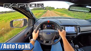 Ford Ranger Raptor *BAJA MODE* POV Test Drive by AutoTopNL