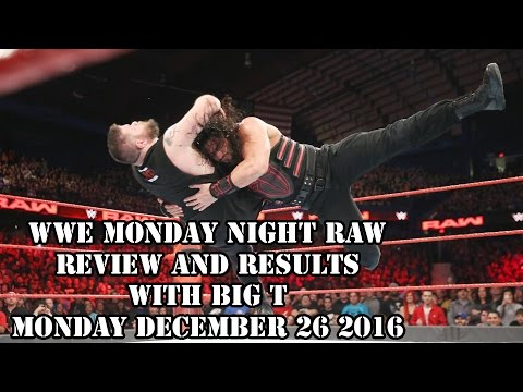 Wwe monday night raw review and results with big t monday - Monday night raw images ...