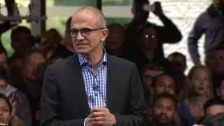 Satya Nadella is Microsoft's new CEO