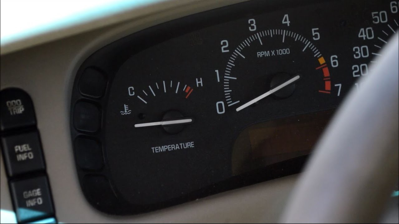 Fix Buick Park Avenue Temperature Fuel Gauge Needle