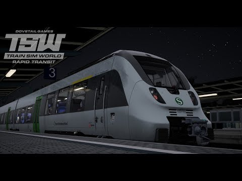 Train Sim World - Rapid Transit - S-Bahn Halle-Leipzig 🔴LIVE