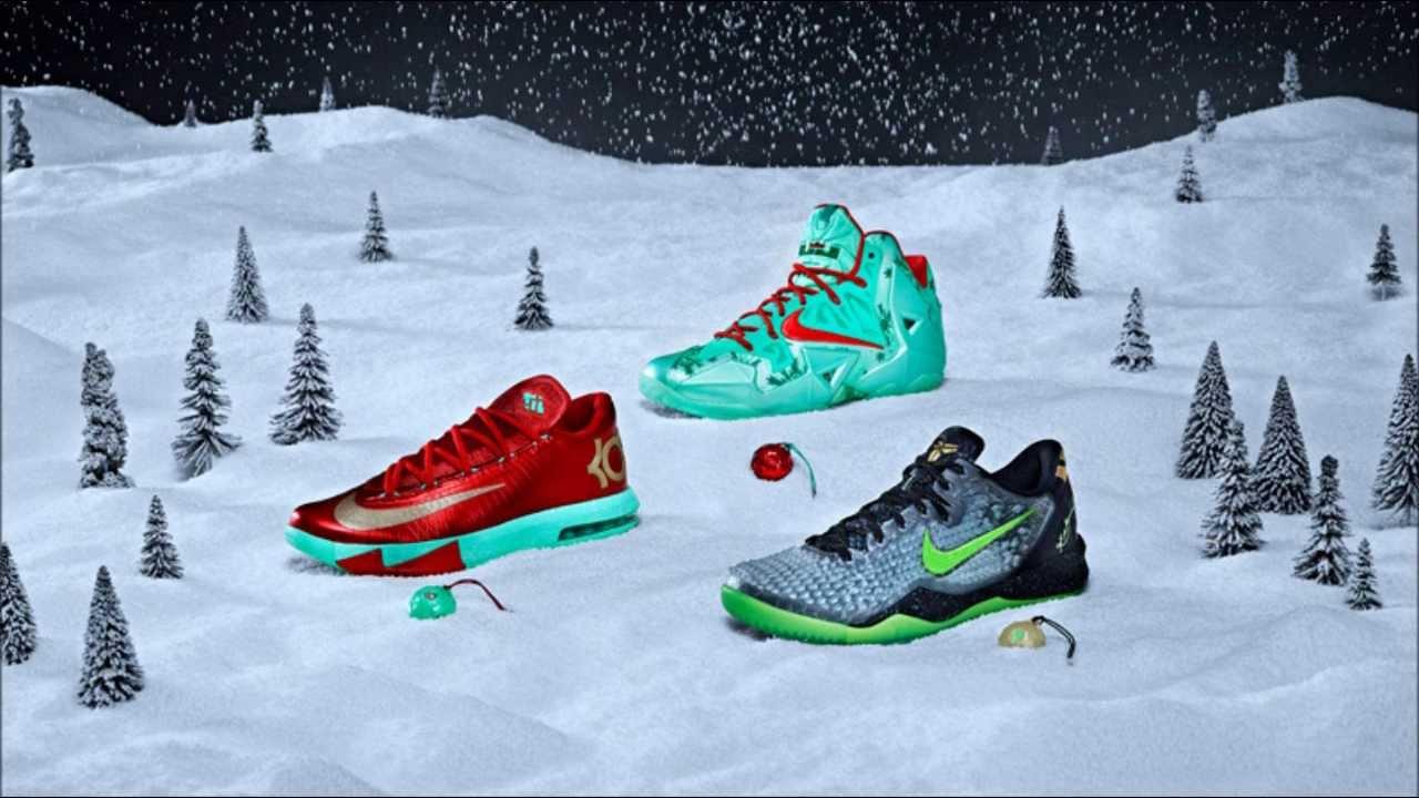 purchase cheap ebba2 66597 Nike Basketball 2013 Christmas Collection - KD 6, Kobe 8 SS, LeBron 11