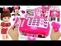 Come to the Disney Minnie Mouse store! Market Cash Register play with Elsa, Remy #PinkyPopTOY