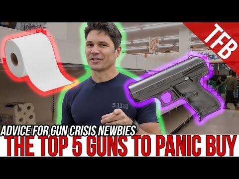 The Top 5 Guns to PANIC BUY (For Beginners) (Coronavirus Edition)