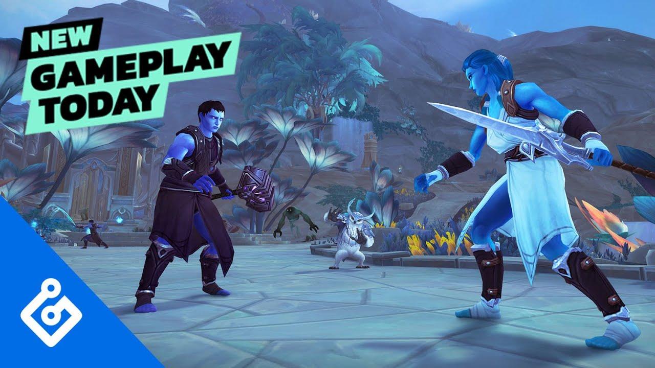 New Gameplay Today – World Of Warcraft: Shadowlands' Bastion thumbnail