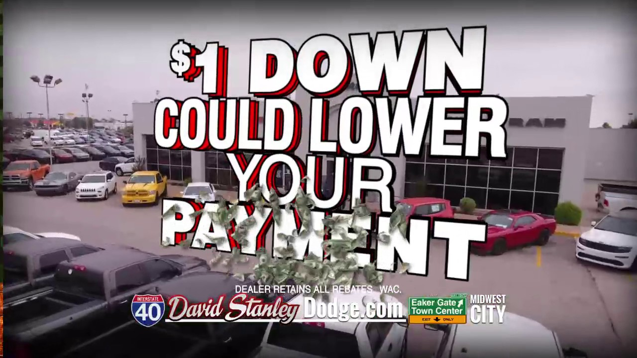 David Stanley Dodge >> MWC170301BHD MWC DODGE DOLLAR DOWN LOWER PAYMENT - YouTube