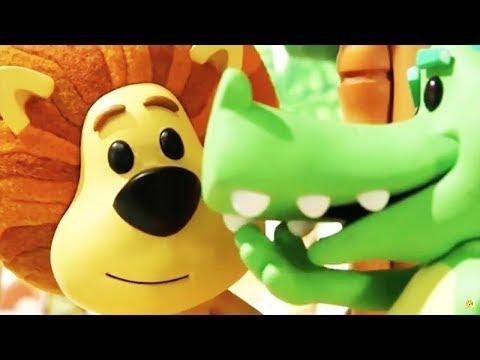 Raa Raa The Noisy Lion | Crocky's Wobbly Tooth | English Full Episodes | Cartoon For Kids🦁