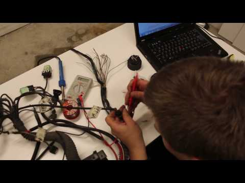 How to modify m52/m50 wiring harness to fit e30 - YouTube M Wiring Diagram on