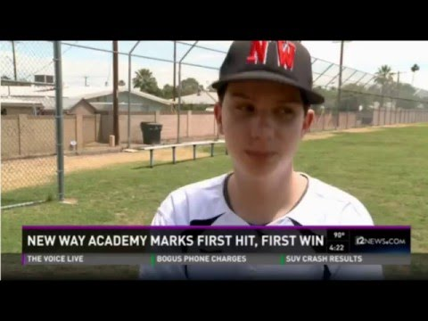 New Way Academy Baseball 2015 - Channel 12 News Piece