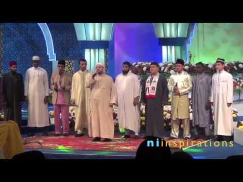 Nasyid 'Ala Baladi oleh para qari di Majlis Tilawah AlQuran Antarabangsa 2013