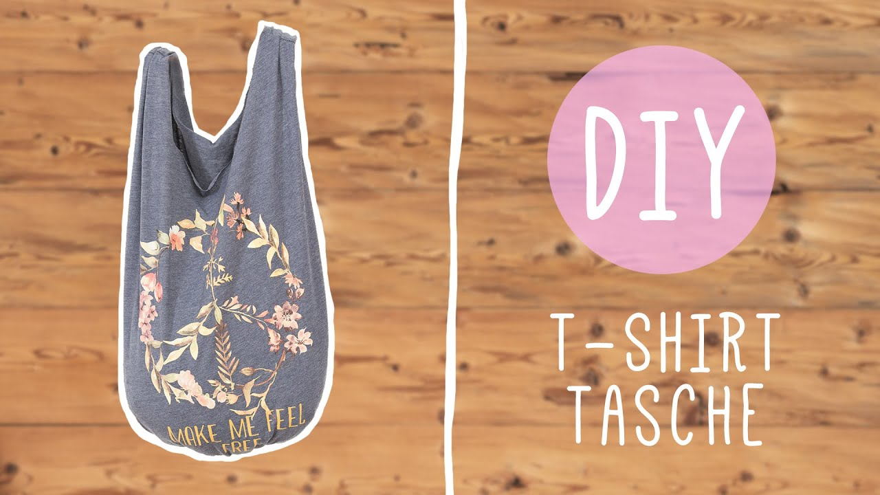 Diy Mit Nina Moghaddam Coole T Shirt Tasche Youtube