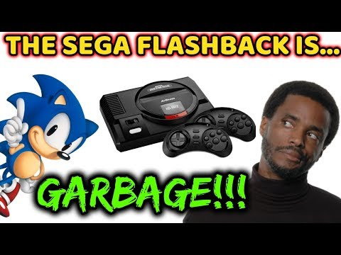 WHY THE SEGA GENESIS FLASHBACK BY ATGAMES IS AWFUL!!!