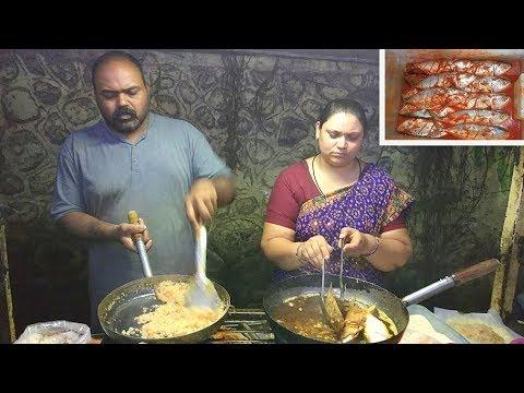 Boiled Egg Bhurji (Gravy) | Fish Fry | Indian Street Food | Pune |