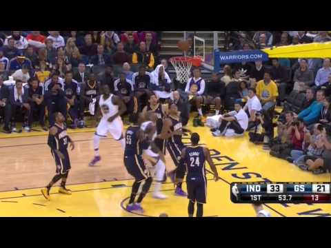 Pacers vs Warriors: Why Paul George & Roy Hibbert Are Great Defensive Players