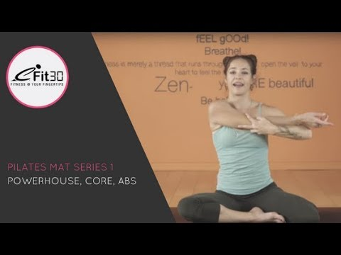 Pilates Mat Series, Powerhouse, Core, Abs, Part 1 Gypsy