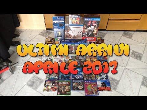 Collezione Videogames: Ultimi Arrivi Aprile 2017