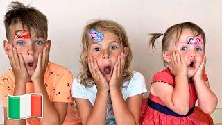 Cinque BambiniBoo Boo storia per bambini