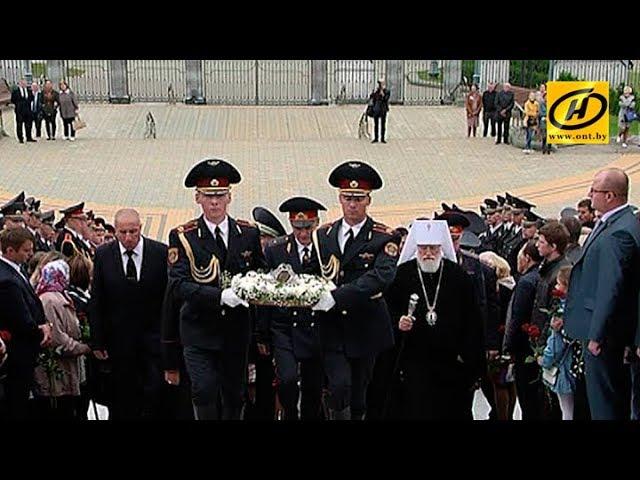 Сотрудники ГАИ почтили память коллег, погибших при исполнении служебного долга