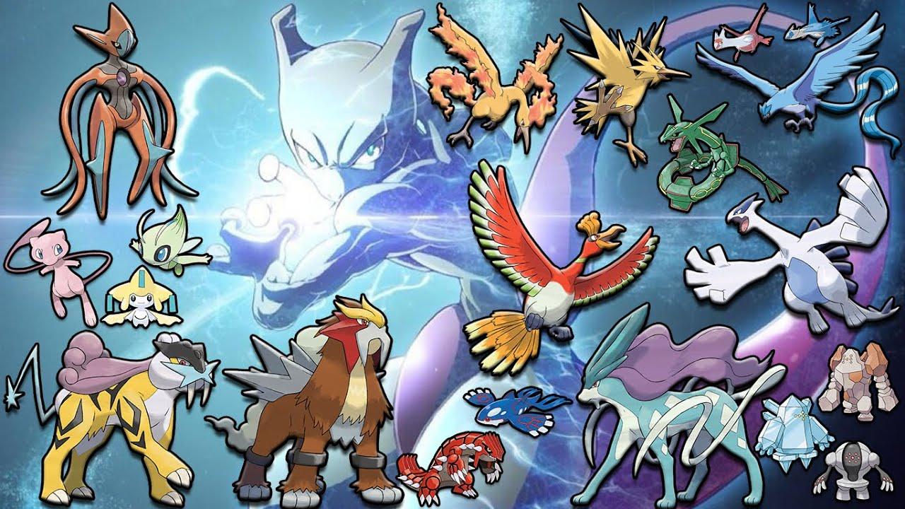 Como Tener A Todos Los Legendarios En Pokemon Rojo Fuego O Verde Hoja Explicación Youtube