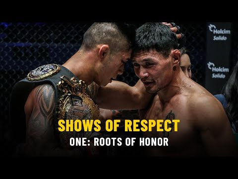 Shows Of Respect   ONE: ROOTS OF HONOR