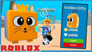 The Owner Gave Me The Secret Giant Cat Pet in Roblox Speed Champions